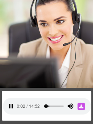 call center - Measuring telephone calls